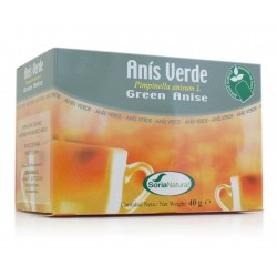 ANIS VERDE INFUSION 20 FILTROS (Soria Natural)