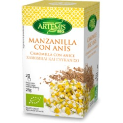 INFUSION MANZANILLA ANIS 20FILTROS (Artemis bio)