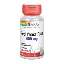 RED YEAST RICE 600MG 45CAPS