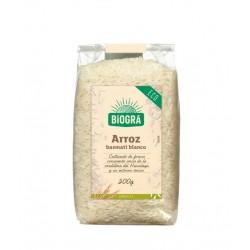 ARROZ BASMATI BLANCO 500GR (Biogra)
