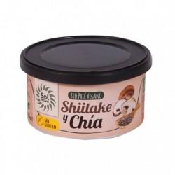 PATE SHIITAKE CHIA 125GR (Sol Natural)