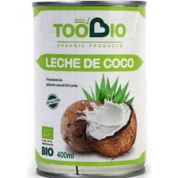 LECHE COCO 400gr bio (TooBio)