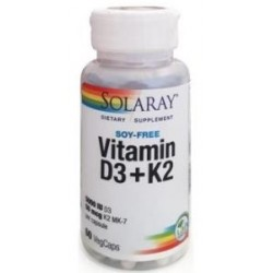 VITAMINA D3+K2 60CAP