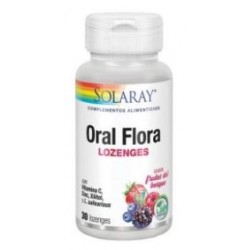 ORAL FLORA 30 CHICLES
