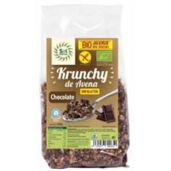 KRUNCHY AVENA CHOCOLATE S/GLUTEN 350GR(Sol Natural