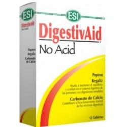 DIGESTIVAID NO ACID 12 MASTICABLES