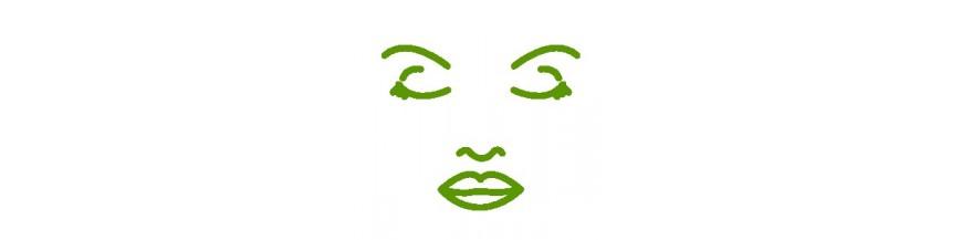 Cosmética facial natural